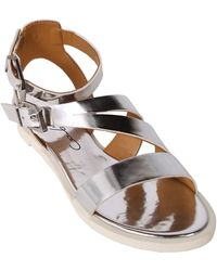 Report Signature Zicco Strap Sandals silver - Lyst