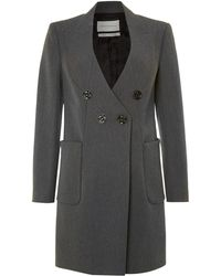 Twenty 8 Twelve Double Breasted Coat - Lyst
