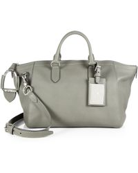 Ralph Lauren Collection Soft Stirrup Nomad Satchel - Lyst