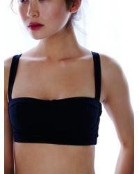 Intimately - Contrast Band Sports Bra - Lyst