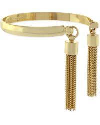 Vince Camuto - Tassel Bangle Bracelet - Lyst