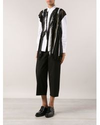 Junya Watanabe Sequin Shirt Blouse - Lyst