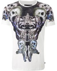 Philipp Plein 'Memory' T-Shirt - Lyst