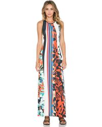 Clover Canyon - Ink Strokes Maxi Dress - Lyst