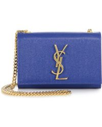 Saint Laurent Monogramme Chain Shoulder Bag - Lyst