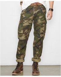 Denim & Supply Ralph Lauren Camo Cargo Pants - Lyst