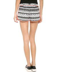 Dolce Vita - Sayla Shorts - Black/white - Lyst