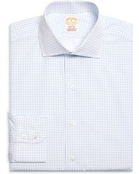 Brooks Brothers Golden Fleece® Madison Fit Framed Check Dress Shirt - Lyst