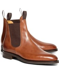Brooks Brothers Edward Green Newmarket Chelsea Boots - Lyst