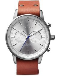 Triwa - Stirling Nevil Watch With Tan Strap - Lyst