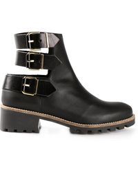 Miista Black Cecilia Boots - Lyst