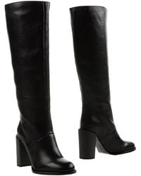 See By Chloé Boots black - Lyst
