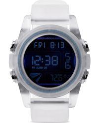 Nixon 'The Unit' Digital Watch white - Lyst