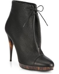 Burberry Prorsum | Leather Booties | Lyst