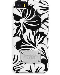 MICHAEL Michael Kors Floral Iphone 5 Case - Lyst