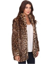NYDJ - West End Cheetah Coat - Lyst