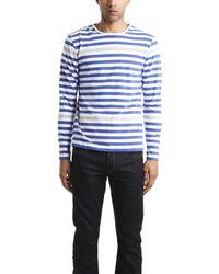 Shipley & Halmos 'Staniel' Stripe Long Sleeve T-Shirt - Lyst