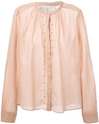 Vanessa Bruno Lace Detail Blouse - Lyst