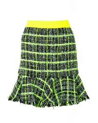 Moschino Cheap & Chic Tweed Skirt - Lyst