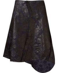 Fernanda Yamamoto - Floral Print Asymmetric Hem Skirt - Lyst