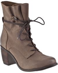 Steve Madden Rambow Lace-Up Boot Brown Leather brown - Lyst