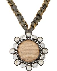 Lanvin Orion Pendant Necklace - Lyst
