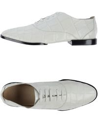 Alexander Wang Lace Up Shoes - Lyst