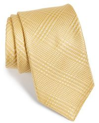 Michael Kors - Plaid Silk Tie - Lyst