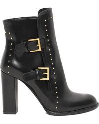 Alexander McQueen Double Buckle Boot - Lyst