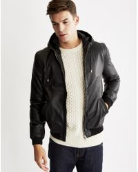 Bellfield | Solo Pu Hooded Jacket | Lyst