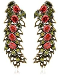 Iosselliani - All That Jewellery! Demi Hollow Earrings - Lyst