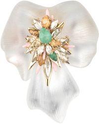 Alexis Bittar Desert Jasmine Orchard Pin - Lyst