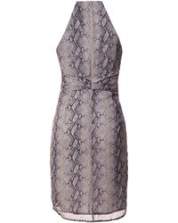 Zimmermann Sleeveless Snake Print Dress - Lyst