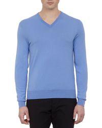 Ralph Lauren Black Label - Vneck Pullover Sweater - Lyst