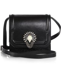 DANNIJO Lypton Metallic Crossbody Bag - Lyst