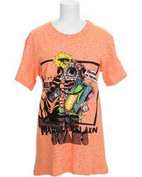 Jeremy Scott T-Shirt orange - Lyst