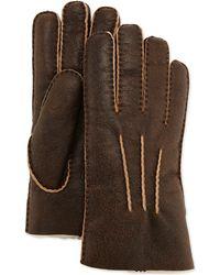 UGG - Gauge Point Shearling Gloves - Lyst