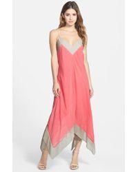 Nic+zoe Drifty Color-Blocked Dress - Lyst