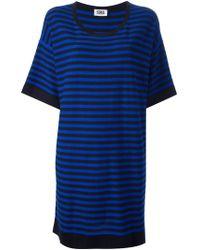 Sonia by Sonia Rykiel Striped Knit Tunic - Lyst