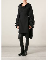 Rick Owens Cape Style Dress - Lyst