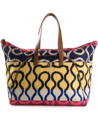 Vivienne Westwood Multicolor Squiggle Shopper - Lyst