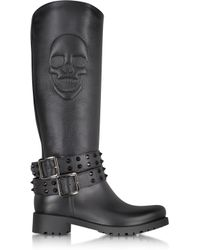 Philipp Plein | After You Black Rubber Boot | Lyst