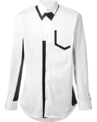 DSquared2 Printed Shirt - Lyst