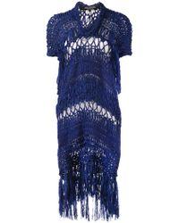Junya Watanabe - Crochet Sweater Dress - Lyst