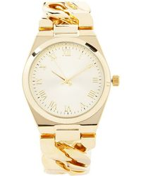 Forever 21 - Chained Analog Watch - Lyst