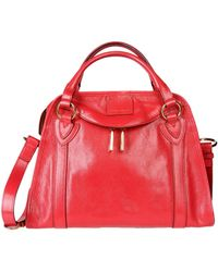 Marc Jacobs Red Handbag - Lyst