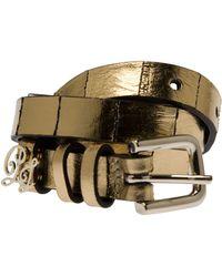 Paul & Joe Lix Skinny Metallic Belt - Lyst