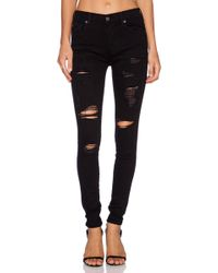 True Religion High Rise Halle Skinny - Lyst