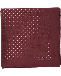 Ralph Lauren Black Label - Pin Dot Pocket Square - Lyst