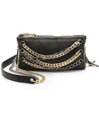 Ash Domino Chain Cross Body Bag - Black - Lyst